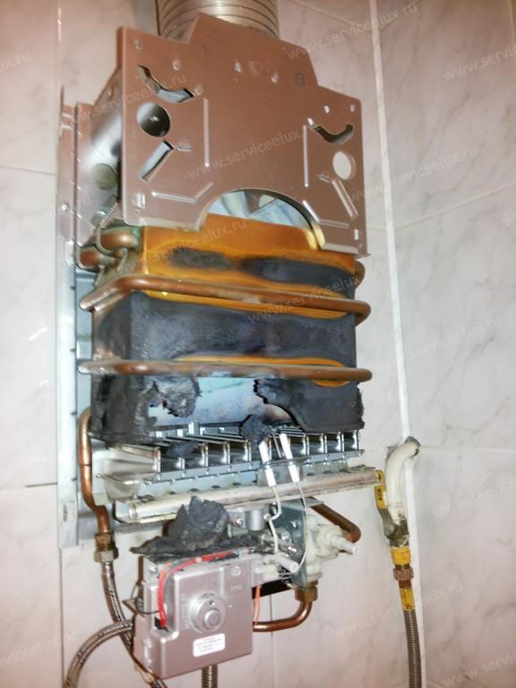 Из какого металла теплообменник у газовой колонки электролюкс теплообменник на дизельный форд фокус